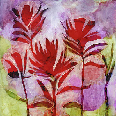 Painting - Arkansas Valley Paintbrush by Julie Maas