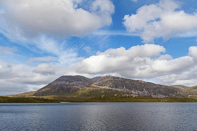 Photograph - Arkle From Loch Stack by Gary Eason