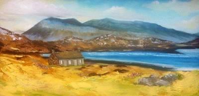 Arkle Mountain Sutherland Art Print