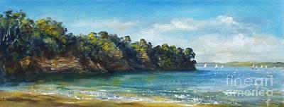 Painting - Arkles Bay New Zealand 2 by Jennifer Cruden