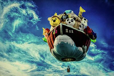 Photograph - Arky  Noah's Ark by Bob Orsillo