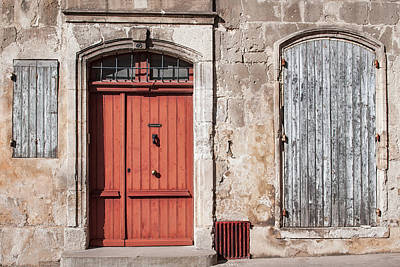 Photograph - Arles Facade by Michael Blanchette