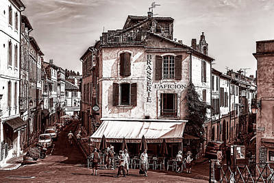 Arles, France, In Sepia Art Print