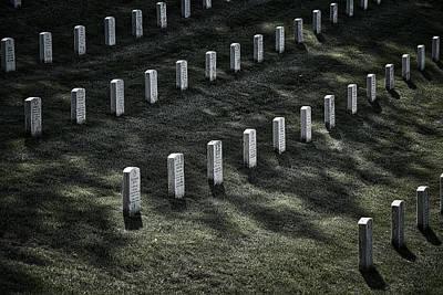Photograph - Arlington Cemetery Graves #2 by Stuart Litoff
