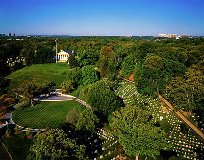 Photograph - Arlington Cemetery by Mountain Dreams