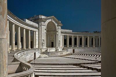 Photograph - Arlington Cemetery Memorial Amphitheater by Stuart Litoff