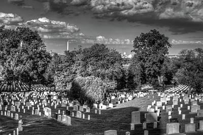 Mans Best Friend - Arlington Cemetery by Ross Henton