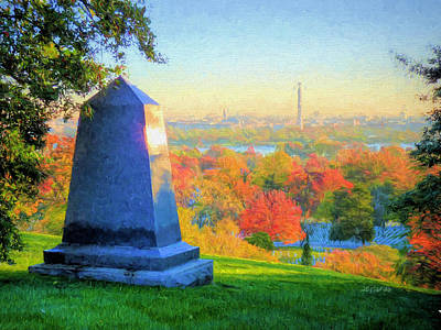 Photograph - Arlington Cemetery Sunrise by JC Findley