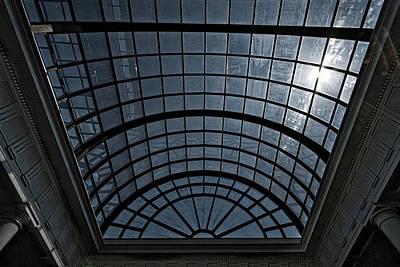 Photograph - Arlington Cemetery Visitor Center Skylight by Stuart Litoff
