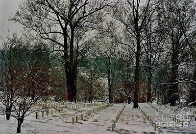 Photograph - Arlington Covered In Snow by D Hackett