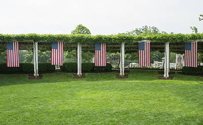 Photograph - Arlington Flags by Jared Windler