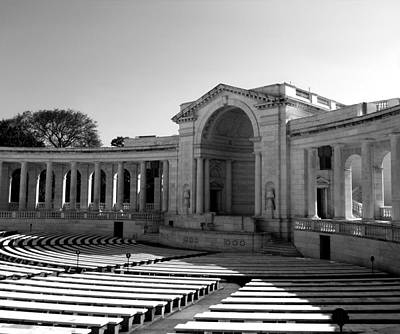 Photograph - Arlington Memorial Amphitheater by Danielle R T Haney