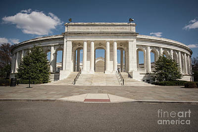Photograph - Arlington Memorial Amphitheater  by Judy Wolinsky