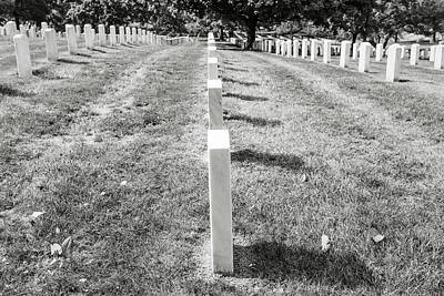 Photograph - Arlington National Cemetary In Washington Dc by Brandon Bourdages
