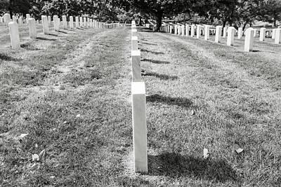 Photograph - Arlington National Cemetary In Washington Dc by Brandon Bourdages