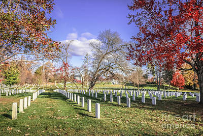 Photograph - Arlington National Cemetery by Claudia M Photography