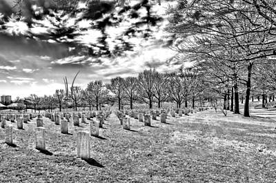 Photograph - Arlington National Cemetery by Maria Coulson