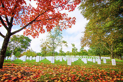 Photograph - Arlington National Cemetery by Mark Andrew Thomas