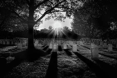 Photograph - Arlington National Cemetery by Paul Seymour