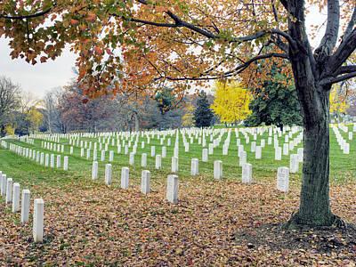 Arlington National Cemetery Virginia Art Print by Brendan Reals