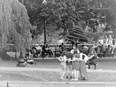 Photograph - Arlington Park Snap Shot by Jamie Johnson
