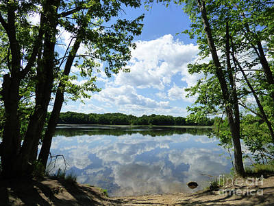 Photograph - Arlington Reservoir by Leara Nicole Morris-Clark
