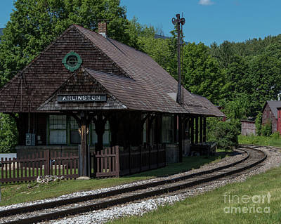 Photograph - Arlington Station by Phil Spitze