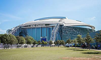 Arlington Texas  Att Nfl Cowboys  Football Stadium Art Print