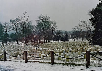 Photograph - Arlington Winter by D Hackett