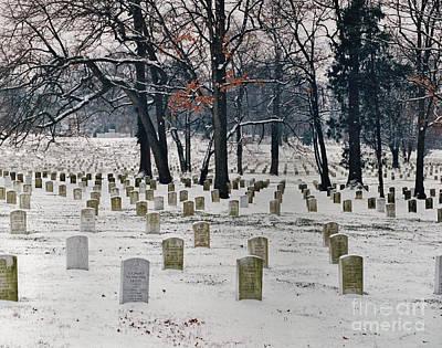 Photograph - Arlington Winter Snow by D Hackett