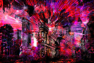 Digital Art - Armageddon by Lisa Yount
