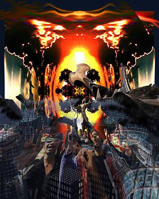 Armageddon Art Print by Mason BenYair