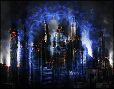 Digital Art - Armageddon by Michael Damiani
