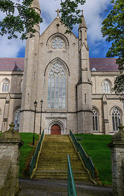 Photograph - Armagh's Catholic Cathedral by Elvis Vaughn
