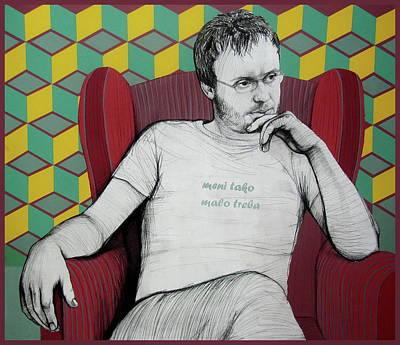 Painting - Armchair  by Jovana Kolic