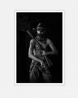 Western Art Digital Art - Armed And Dangerous by Patty Hallman