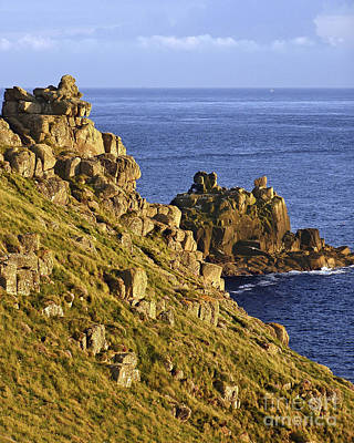 Photograph - Armed Knight Rocks Cornwall by Terri Waters