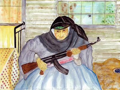 Ak-47 Painting - Armenia At War by Pegi Lopez