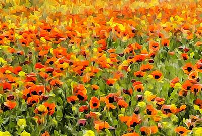 Armenia Flowers In Spring Art Print by Dennis Cox