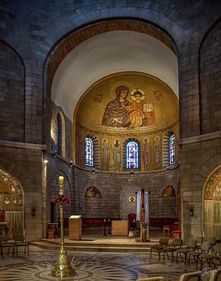 Photograph - Armenian Church Altar by Endre Balogh