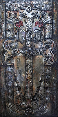 Painting - Armenian Cross Stone by Hayk Matsakyan