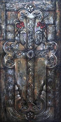 Armenian Cross Stone Art Print
