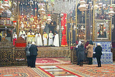 Photograph - Armenian Mass by Munir Alawi