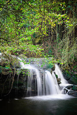 Armes Waterfall Art Print by Marco Oliveira