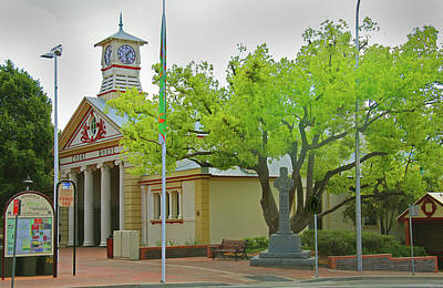 Photograph - Armidale Courthouse by Nareeta Martin