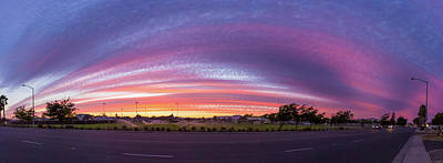 Photograph - Armijo Sunset by Geoffrey Lewis