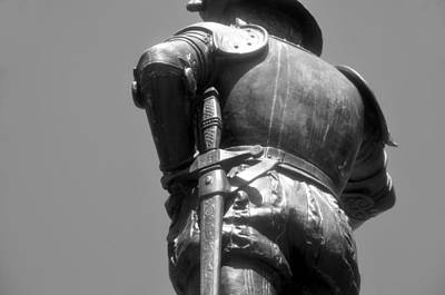 Photograph - Armor Of A Conquistador by David Lee Thompson