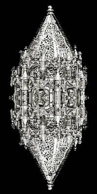 Fantasy Mixed Media - Armor Study 2 by Tony Rubino
