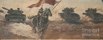 Armored Cavalry Art Print by Unknown