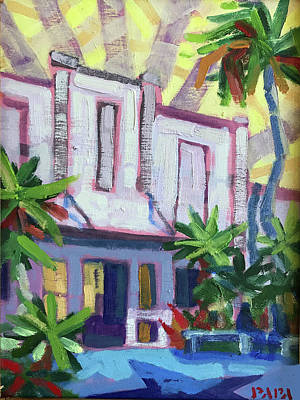 Painting - Armory Art Center At West Palm Beach by Ralph Papa